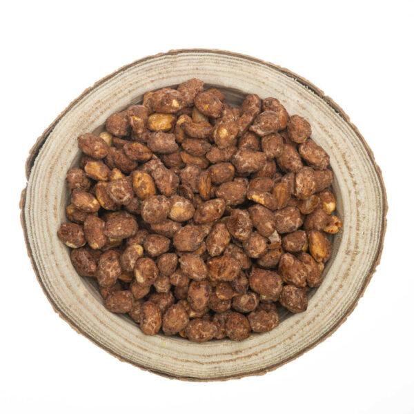 Orzechy ziemne w karmelu